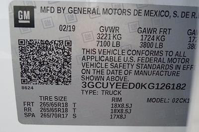 2019 Chevrolet Silverado 1500 Crew Cab 4x4, Pickup #M23440A - photo 56