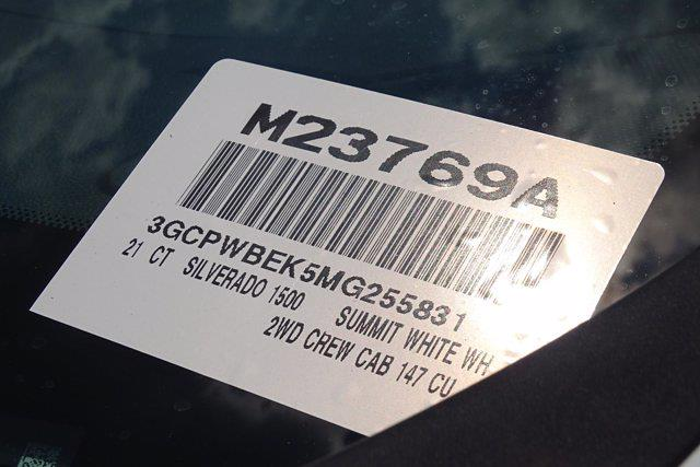 2021 Chevrolet Silverado 1500 Crew Cab 4x2, Pickup #M23769A - photo 49
