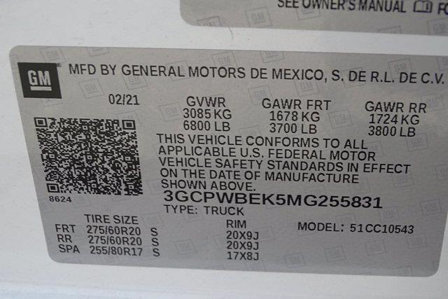 2021 Chevrolet Silverado 1500 Crew Cab 4x2, Pickup #M23769A - photo 50