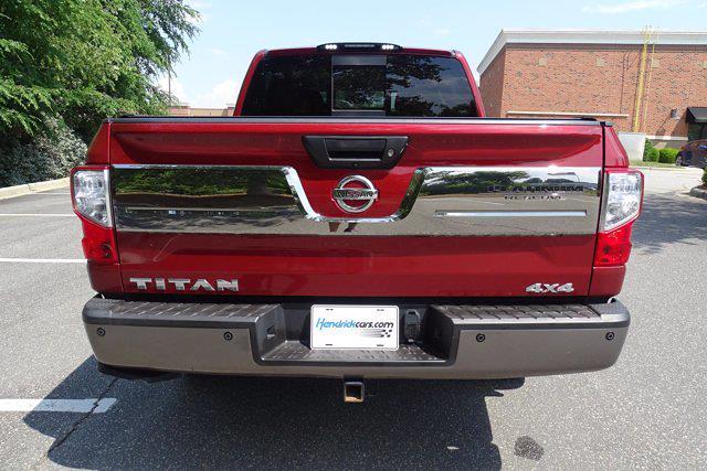 2018 Nissan Titan Crew Cab 4x4, Pickup #M27305B - photo 7
