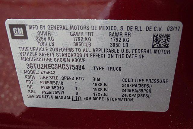 2017 GMC Sierra 1500 Crew Cab 4x4, Pickup #SA7991 - photo 57
