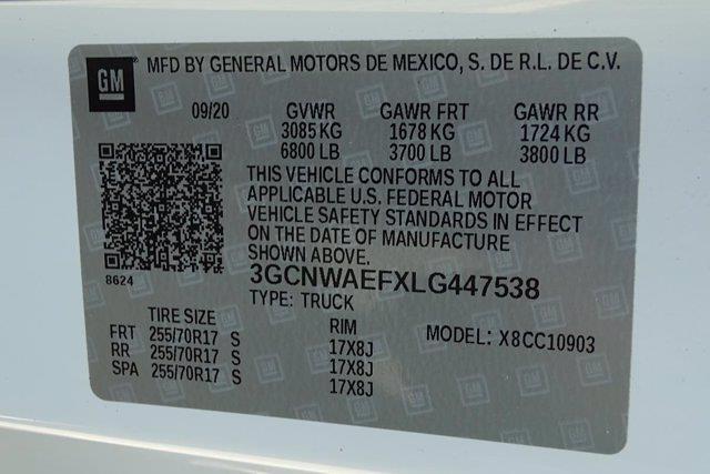 2020 Silverado 1500 Regular Cab 4x2,  Pickup #SA8156 - photo 33