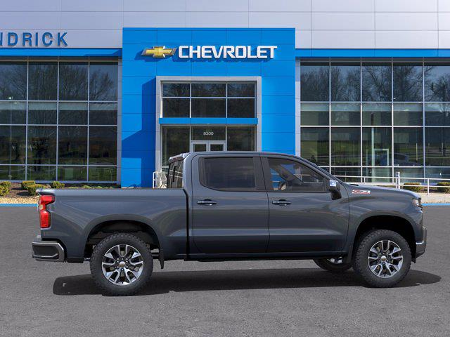 2021 Chevrolet Silverado 1500 Crew Cab 4x4, Pickup #MB8492 - photo 5
