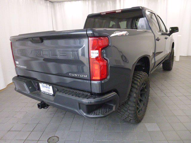 2021 Chevrolet Silverado 1500 Crew Cab 4x4, Pickup #MB8496 - photo 40