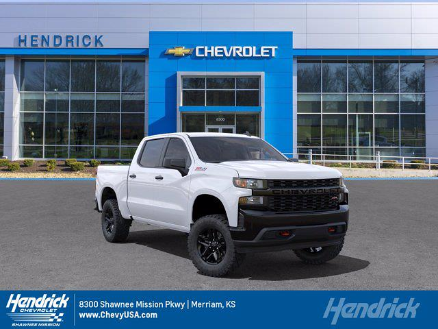 2021 Chevrolet Silverado 1500 Crew Cab 4x4, Pickup #MB8555 - photo 1