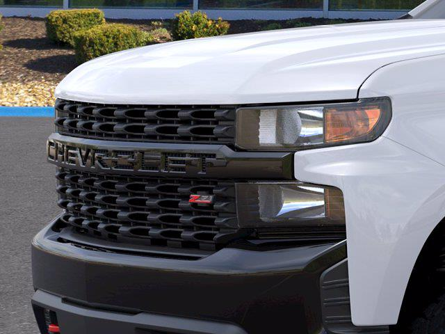 2021 Chevrolet Silverado 1500 Crew Cab 4x4, Pickup #MB8555 - photo 11
