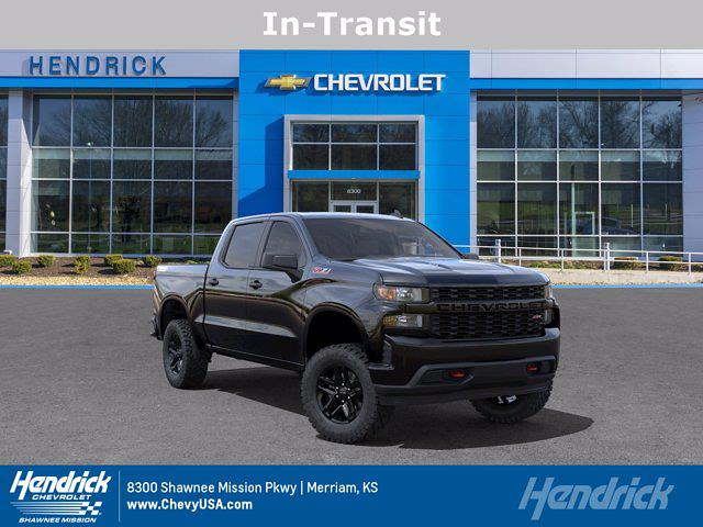 2021 Chevrolet Silverado 1500 Crew Cab 4x4, Pickup #MB8567 - photo 1