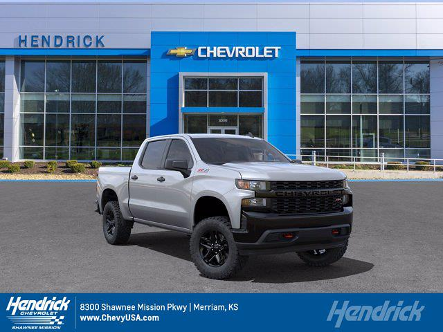 2021 Chevrolet Silverado 1500 Crew Cab 4x4, Pickup #MB8578 - photo 1