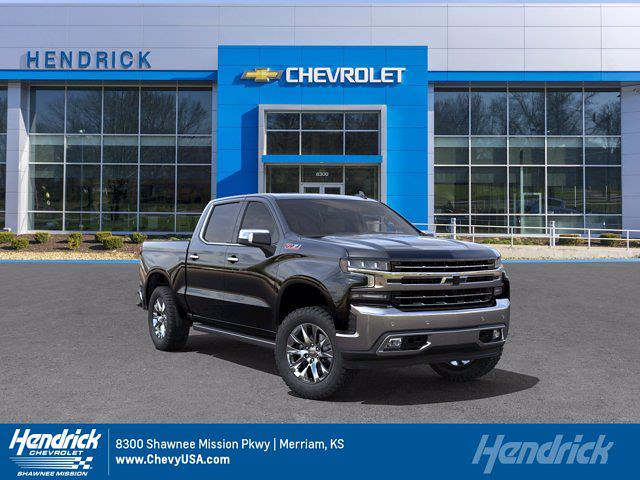 2021 Chevrolet Silverado 1500 Crew Cab 4x4, Pickup #MB8582 - photo 1