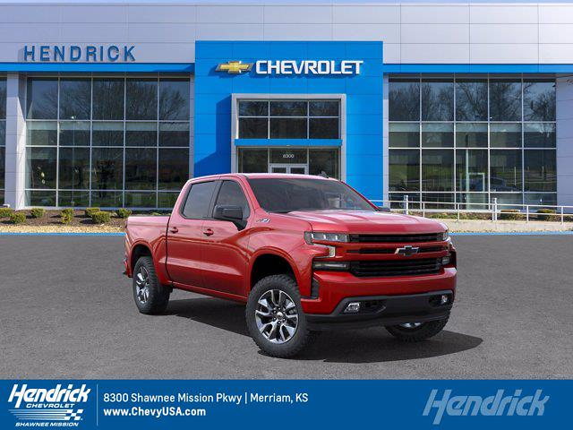 2021 Chevrolet Silverado 1500 Crew Cab 4x4, Pickup #MB8668 - photo 1