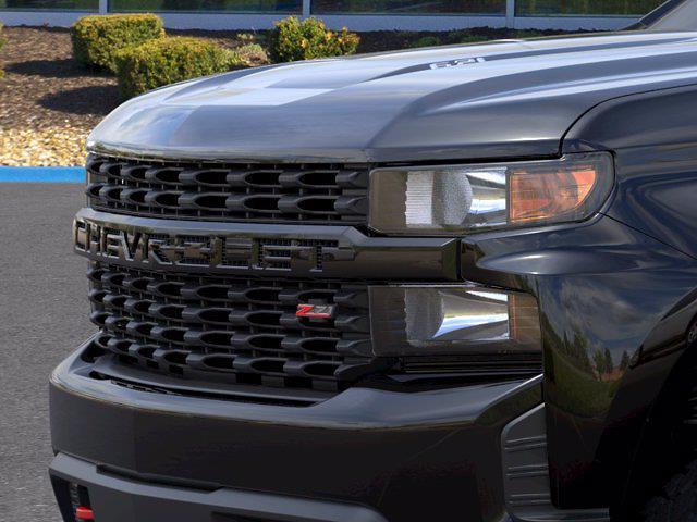 2021 Chevrolet Silverado 1500 Crew Cab 4x4, Pickup #MB8721 - photo 11