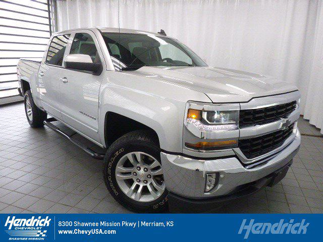 2018 Chevrolet Silverado 1500 Crew Cab 4x4, Pickup #MN8562A - photo 1