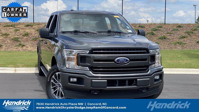 2018 Ford F-150 SuperCrew Cab 4x4, Pickup #M401003A - photo 1