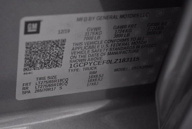 2020 Chevrolet Silverado 1500 Crew Cab 4x4, Pickup #L20066A - photo 37