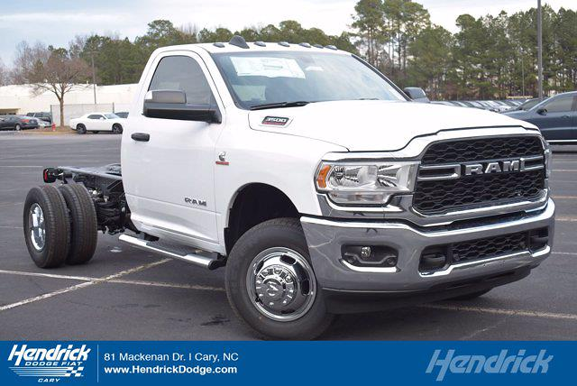 2020 Ram 3500 Regular Cab DRW 4x4, Cab Chassis #L20433 - photo 1