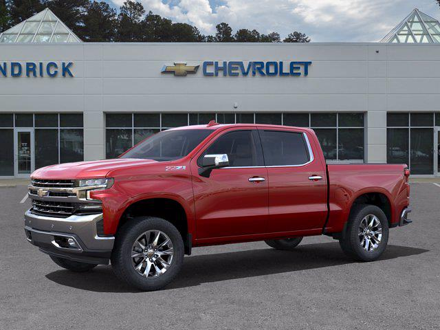 2021 Chevrolet Silverado 1500 Crew Cab 4x4, Pickup #DM51735 - photo 3