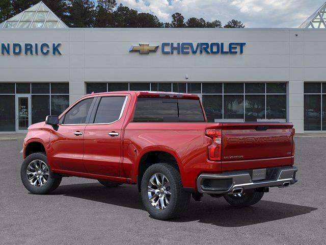 2021 Chevrolet Silverado 1500 Crew Cab 4x4, Pickup #DM51735 - photo 4