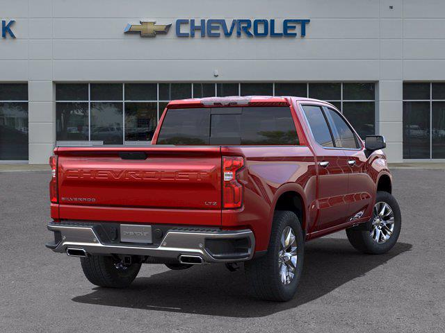 2021 Chevrolet Silverado 1500 Crew Cab 4x4, Pickup #DM51735 - photo 2