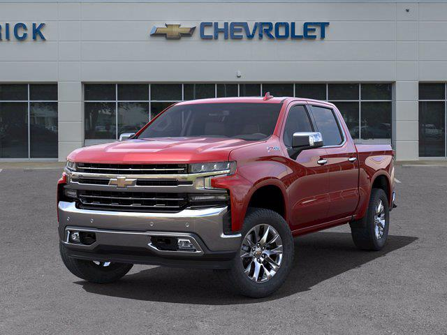 2021 Chevrolet Silverado 1500 Crew Cab 4x4, Pickup #DM51735 - photo 6