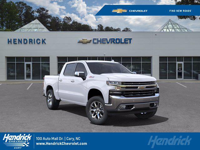 2021 Chevrolet Silverado 1500 Crew Cab 4x4, Pickup #DM51748 - photo 1