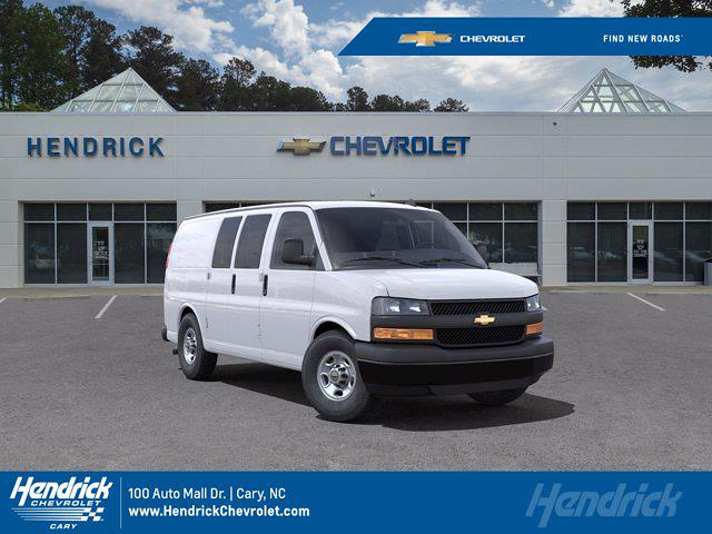 2021 Chevrolet Express 2500 4x2, Adrian Steel Upfitted Cargo Van #DM51756 - photo 1