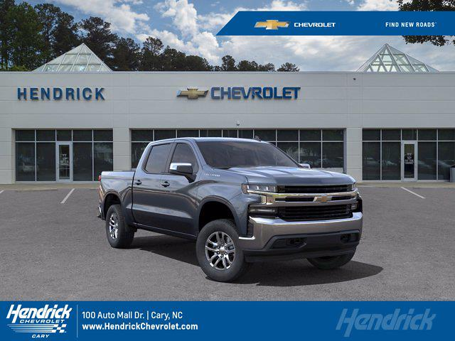 2021 Chevrolet Silverado 1500 Crew Cab 4x4, Pickup #DM51771 - photo 1