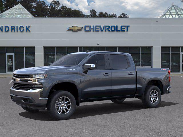 2021 Chevrolet Silverado 1500 Crew Cab 4x4, Pickup #DM51771 - photo 3