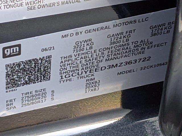 2021 Chevrolet Silverado 1500 Crew Cab 4x4, Pickup #DM52123 - photo 44