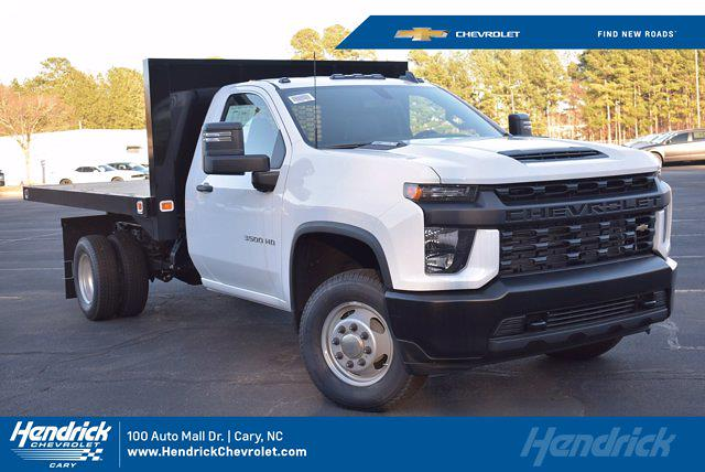 2020 Chevrolet Silverado 3500 Regular Cab DRW 4x4, Knapheide Platform Body #L20267 - photo 1