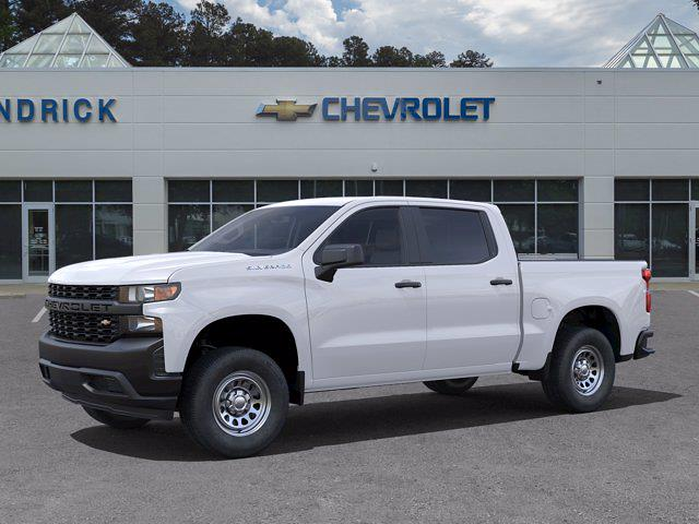 2021 Chevrolet Silverado 1500 Crew Cab 4x2, Pickup #M51794 - photo 3