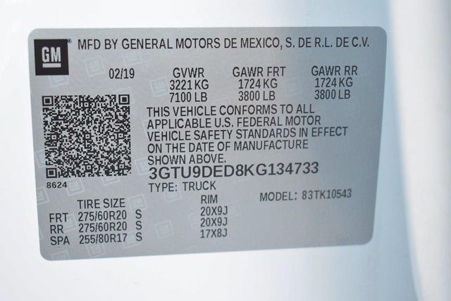 2019 GMC Sierra 1500 Crew Cab 4x4, Pickup #M78632A - photo 42