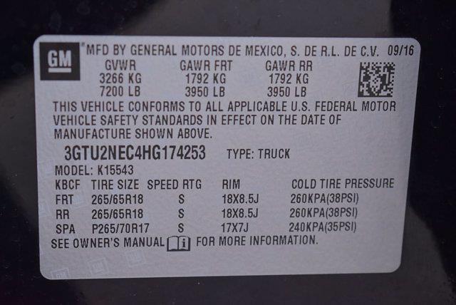 2017 GMC Sierra 1500 Crew Cab 4x4, Pickup #P74253 - photo 35