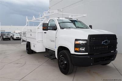 2021 Silverado 5500 Regular Cab DRW 4x2,  Contractor Body #214931 - photo 1