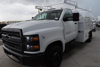 2021 Silverado 5500 Regular Cab DRW 4x2,  Contractor Body #214931 - photo 4