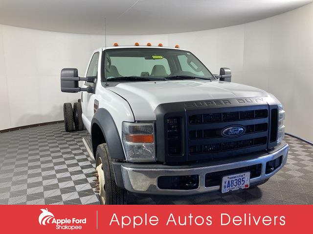 2008 Ford F-550 Regular Cab DRW 4x2, Cab Chassis #S81964A - photo 1
