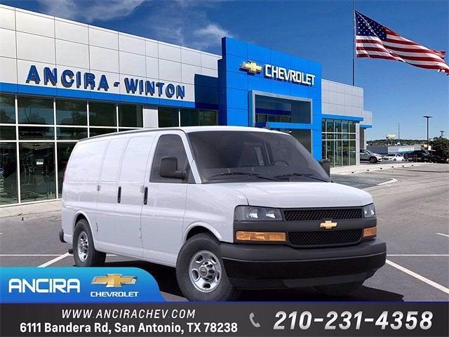 2021 Chevrolet Express 2500 4x2, Adrian Steel Upfitted Cargo Van #CM6964 - photo 1