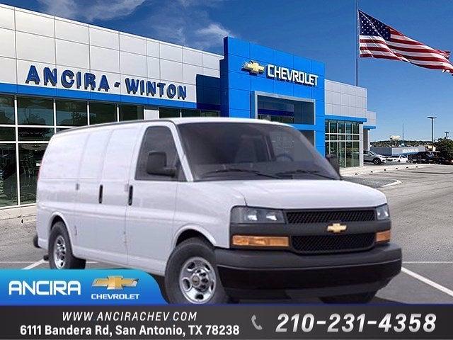 2021 Chevrolet Express 2500 4x2, Sortimo Empty Cargo Van #CM7178 - photo 1
