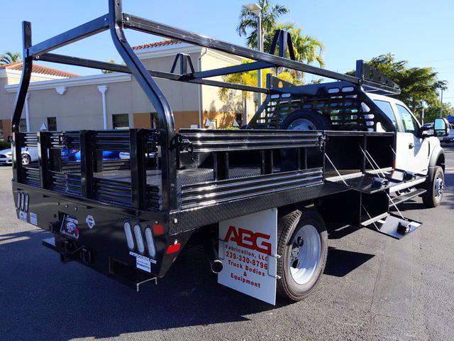 2020 Ford F-450 Crew Cab DRW 4x4, CM Truck Beds Contractor Body #LEE50842 - photo 1