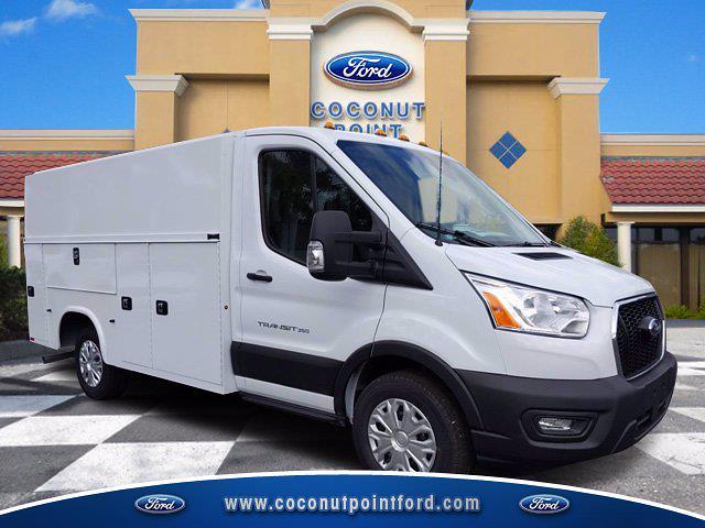 2020 Ford Transit 350 4x2, Knapheide Service Utility Van #LKB41457 - photo 1