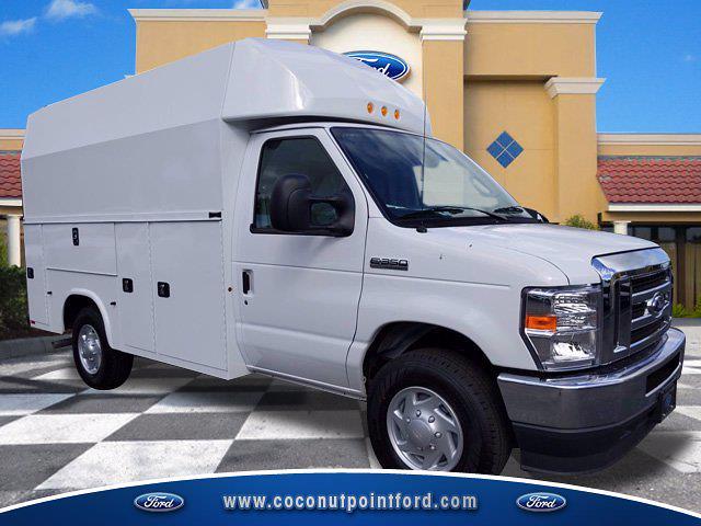 2021 Ford E-350 4x2, Knapheide Service Utility Van #MDC32749 - photo 1