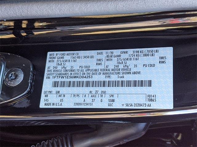 2021 Ford F-150 SuperCrew Cab 4x4, Pickup #NT9117 - photo 36