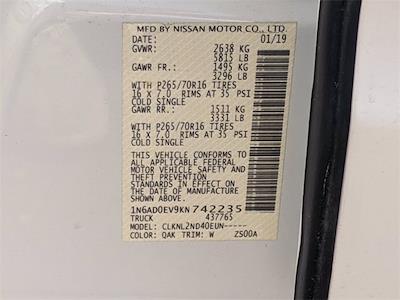 2019 Nissan Frontier Crew Cab 4x4, Pickup #UT9217P - photo 40