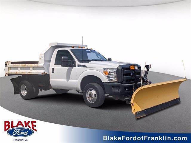2012 Ford F-350 Regular Cab DRW 4x4, Dump Body #UT9231 - photo 1
