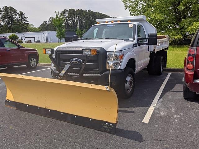 2012 F-350 Regular Cab DRW 4x4,  Dump Body #UT9231 - photo 3