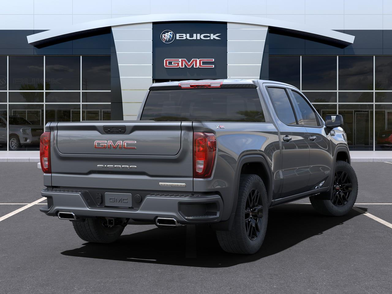 2021 GMC Sierra 1500 Crew Cab 4x4, Pickup #67673B - photo 2