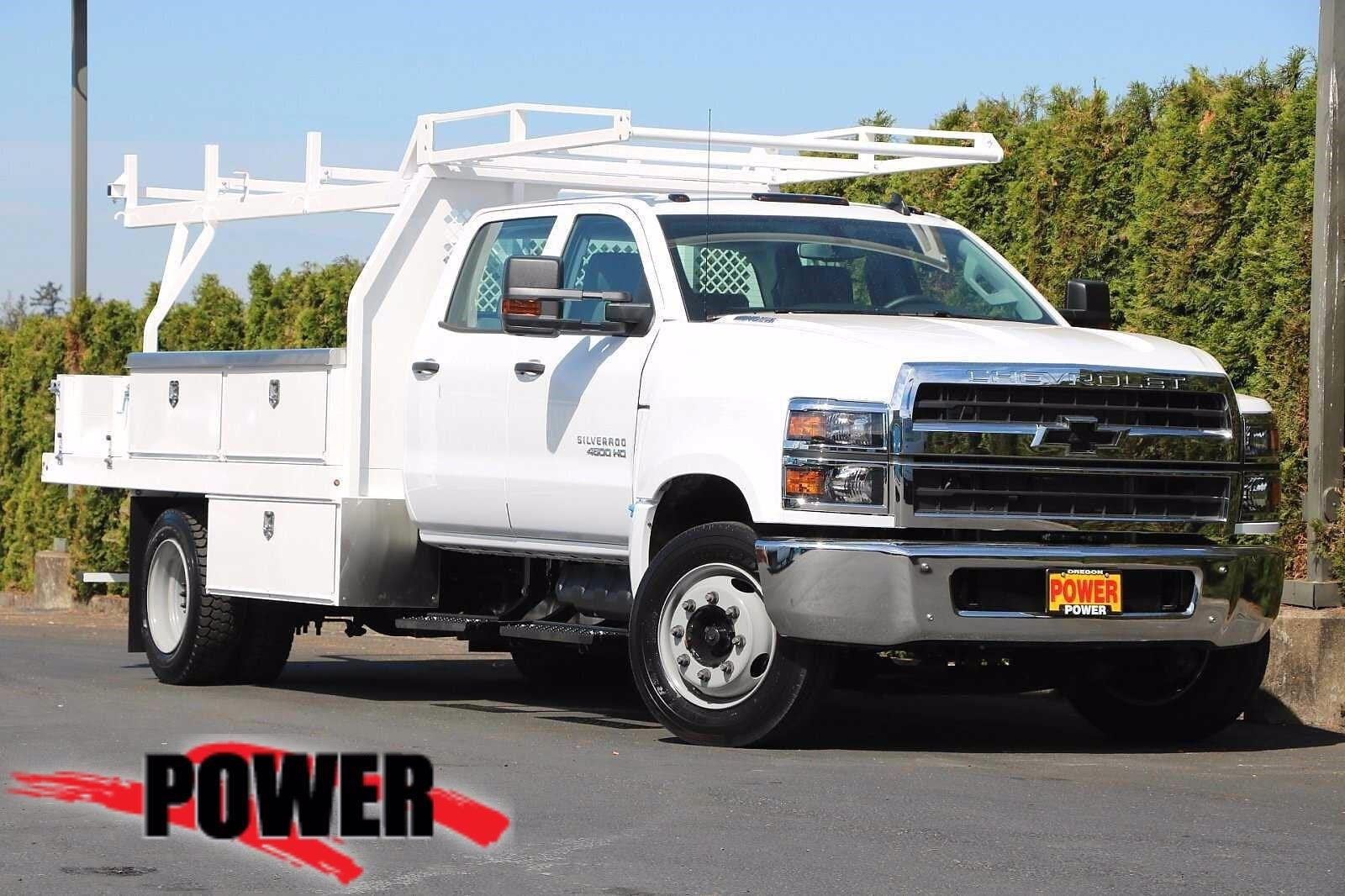2020 Chevrolet Silverado 4500 Crew Cab DRW 4x2, Harbor Standard Contractor Body #23705 - photo 1
