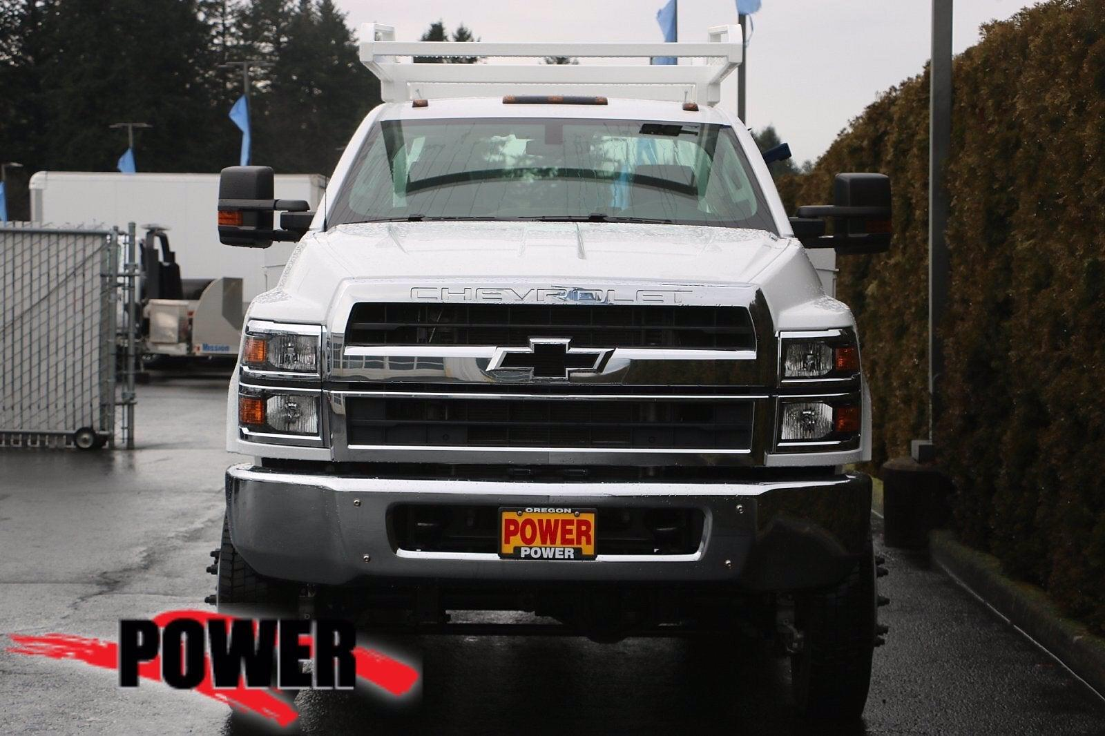 2020 Chevrolet Silverado Medium Duty Regular Cab DRW 4x4, Scelzi SEC Combo Body #23971 - photo 3