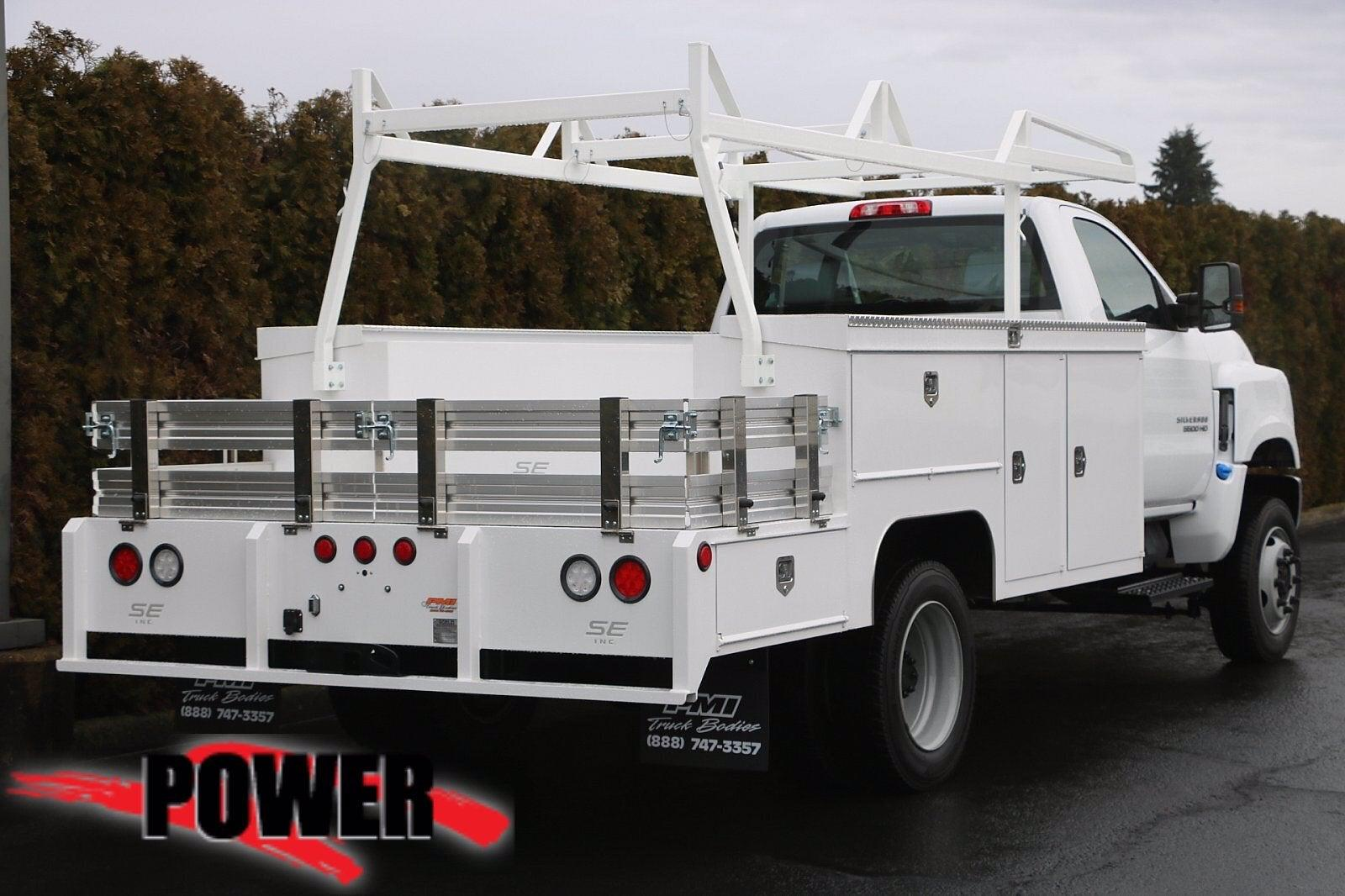 2020 Chevrolet Silverado Medium Duty Regular Cab DRW 4x4, Scelzi SEC Combo Body #23971 - photo 2