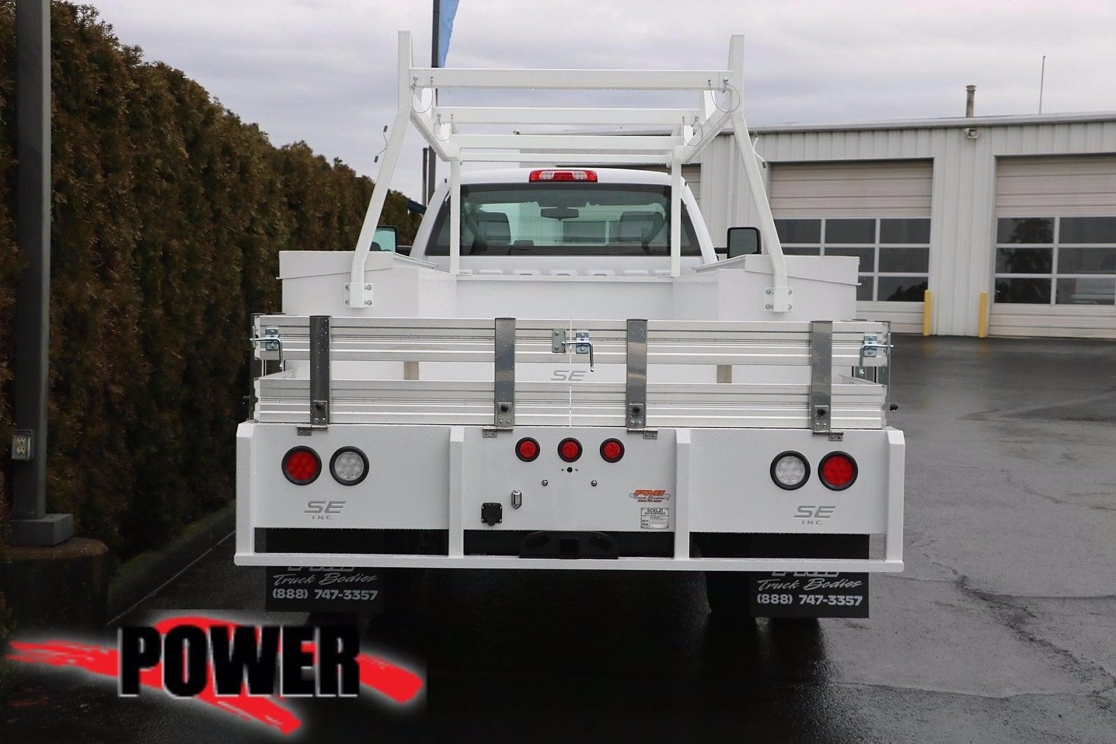 2020 Chevrolet Silverado Medium Duty Regular Cab DRW 4x4, Scelzi SEC Combo Body #23971 - photo 5