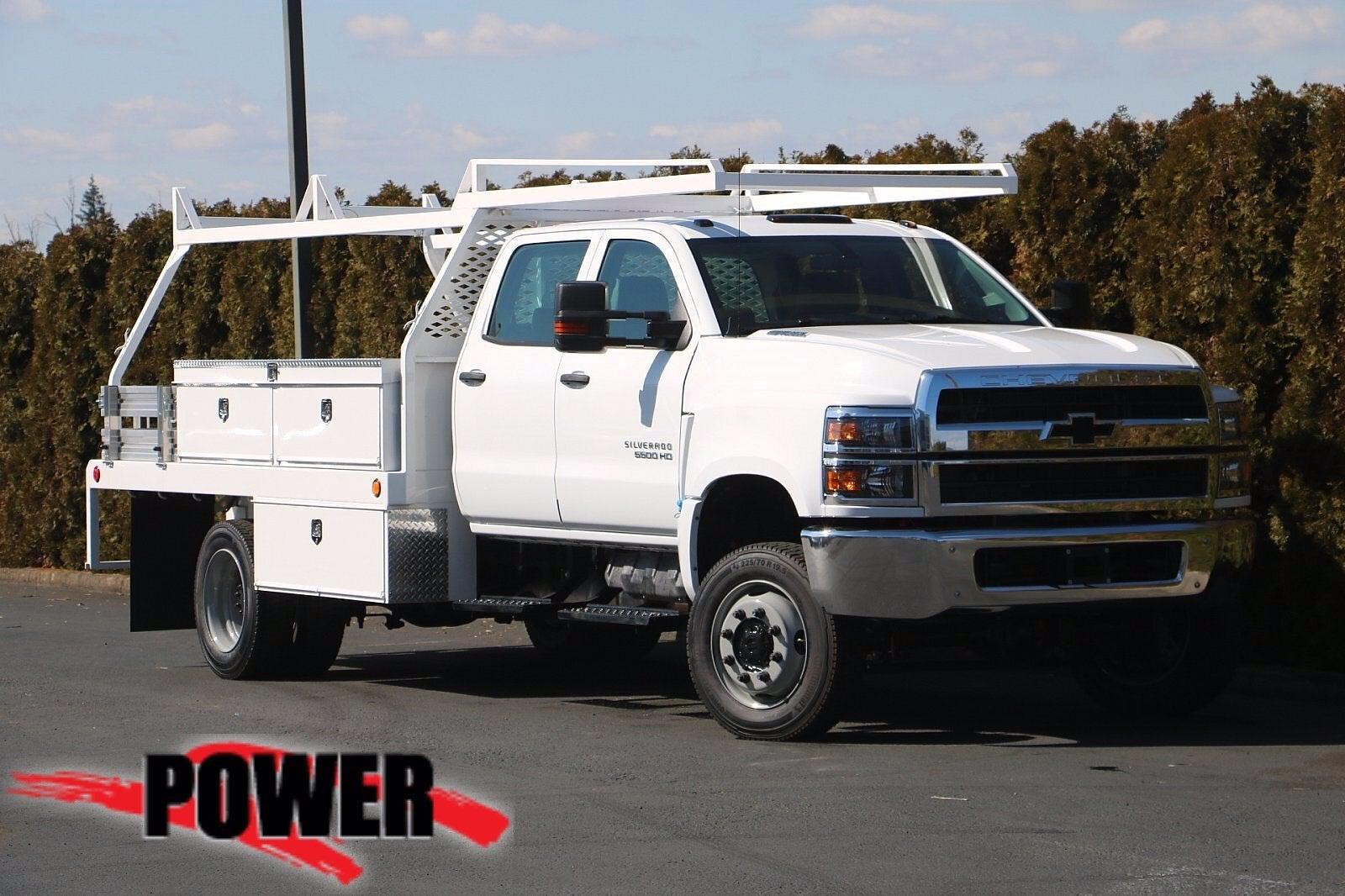 2020 Chevrolet Silverado 5500 Crew Cab DRW 4x4, Scelzi Contractor Body #24030 - photo 1